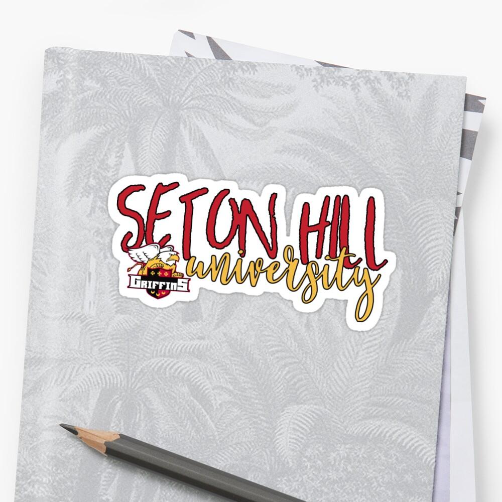 Seton Hill University by vmpdoodles