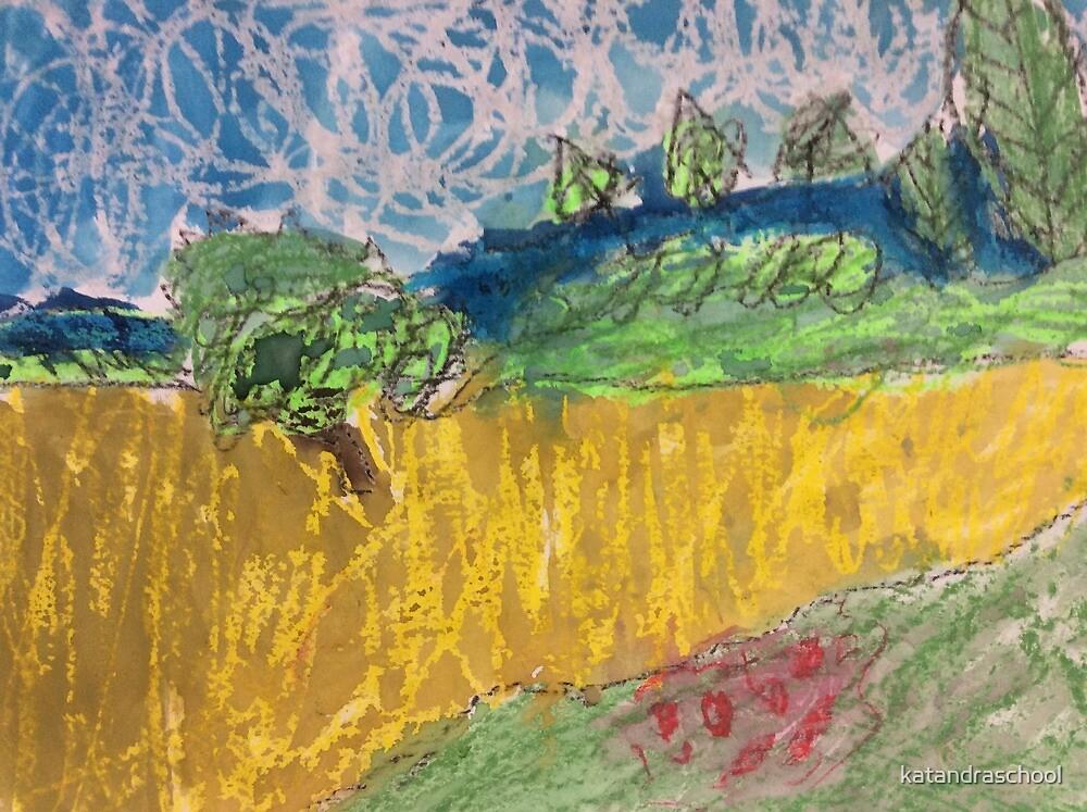 Wheatfields by katandraschool