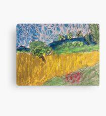 Wheatfields Canvas Print