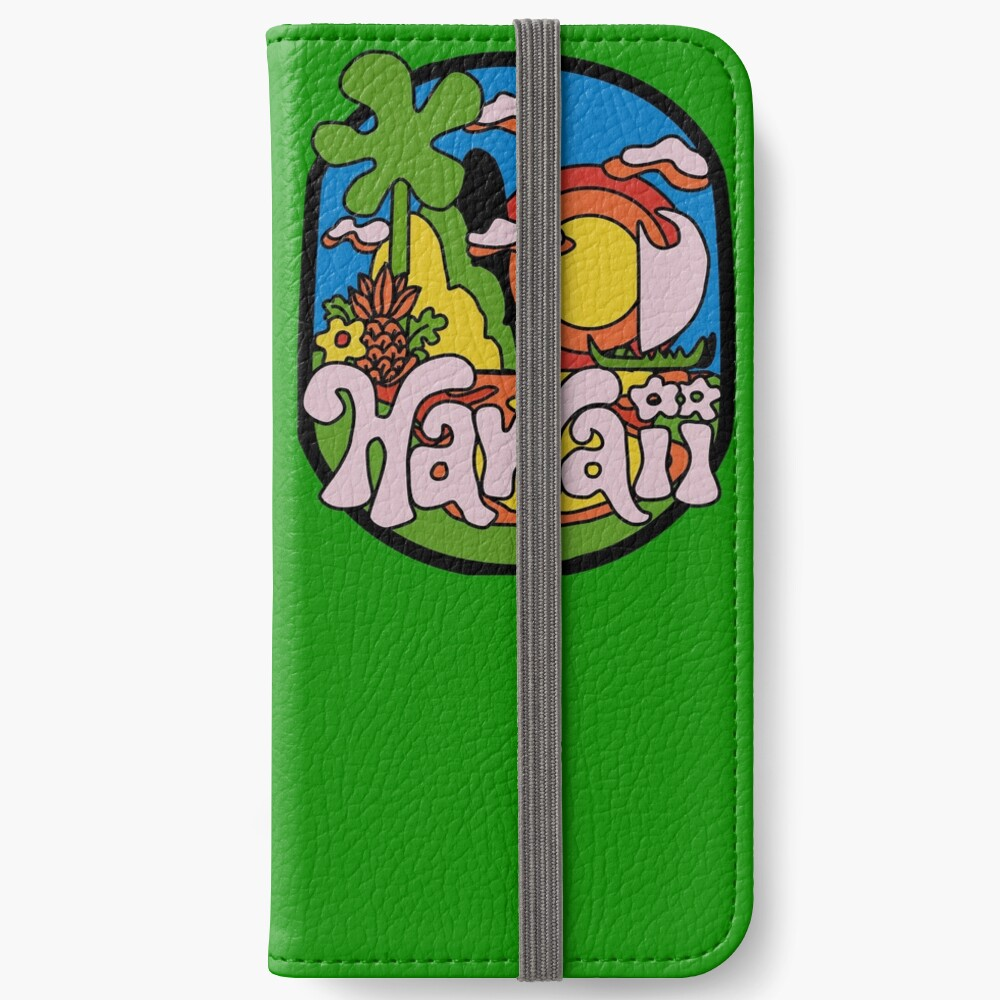Vintage Hawaii iPhone Flip-Case