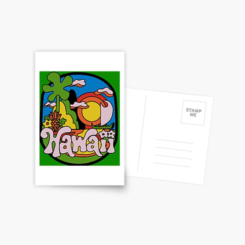 Vintage Hawaii Postkarte
