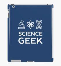 Cool Science Geek T-Shirt iPad Case/Skin