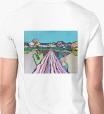 The End of the Blue-Green Road T-Shirt