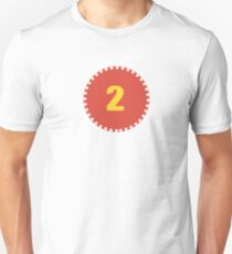 number two, number 2, second birthday Unisex T-Shirt