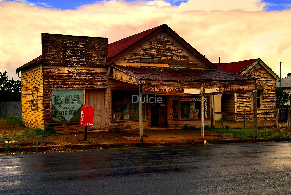 The Old Corner Store by Dulcie