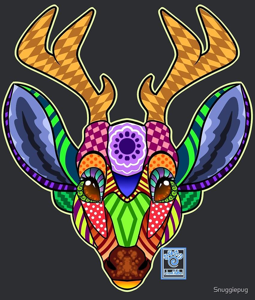 Patchwork Deer by Snuggiepug