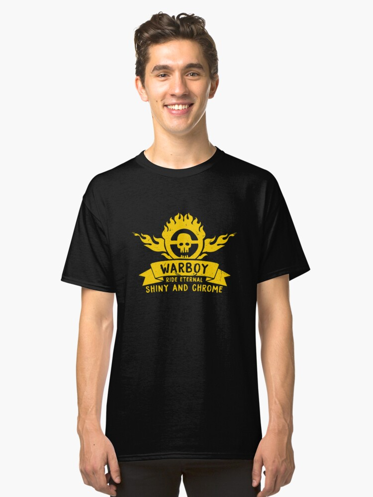 WarBoy Classic T-Shirt Front