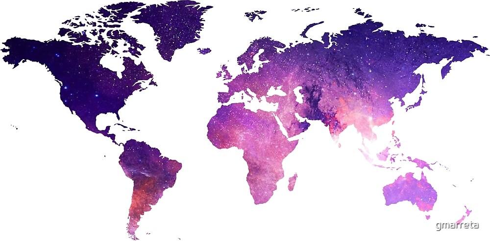 Galaxy map by gmarreta