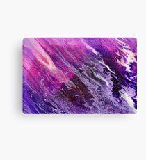 Purple Rush  Canvas Print