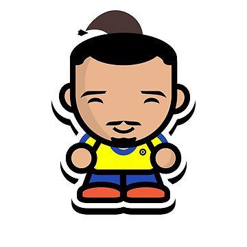 Happy Zlatan Ibrahimovic (Sweden) by footballproud
