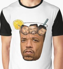 Ice Tea and Ice Cube Shirt Graphic T-Shirt