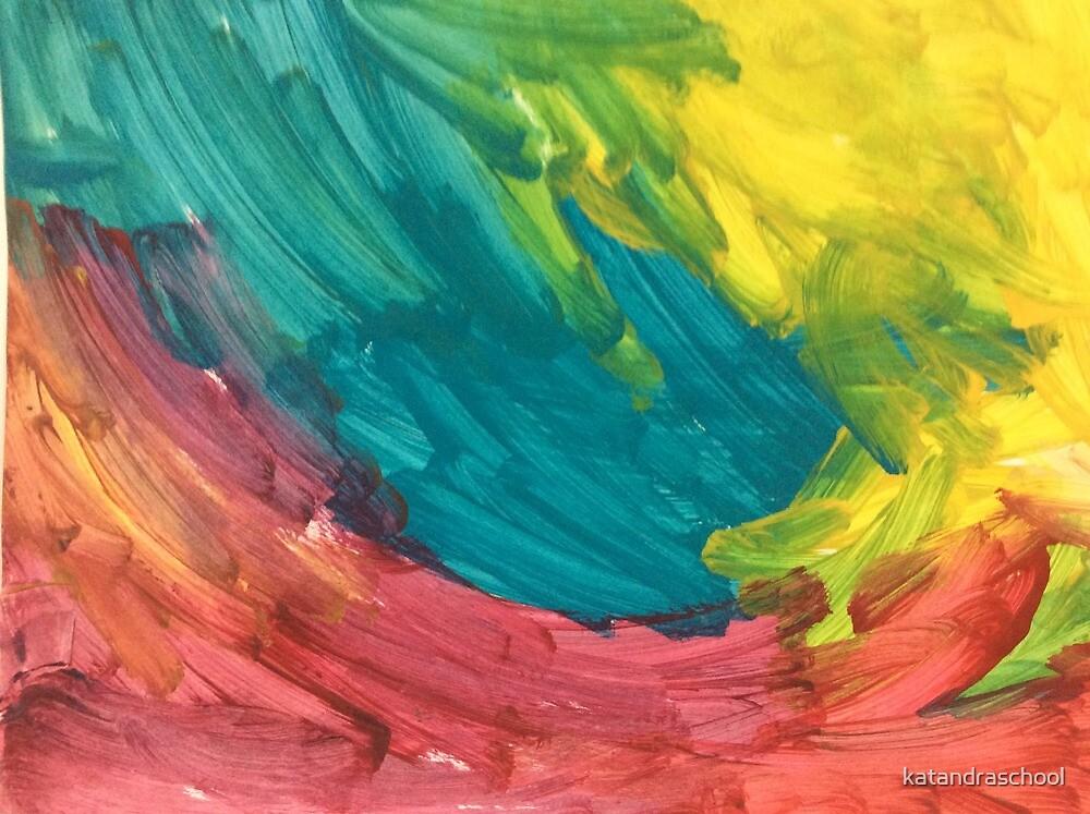 3 colour pattern by katandraschool