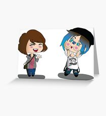 Max & Chloe Greeting Card
