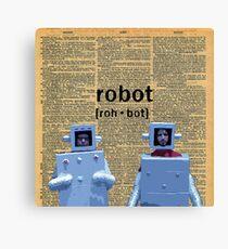 Flight of the Robots  Canvas Print