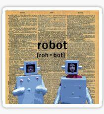 Flight of the Robots  Sticker