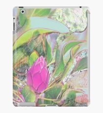 Protea Sketching in Bright Lights iPad Case/Skin