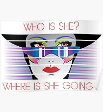 Who is She? Poster