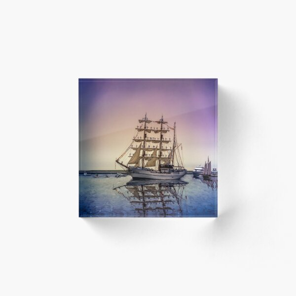 Sail Boston -Guayas Acrylic Block