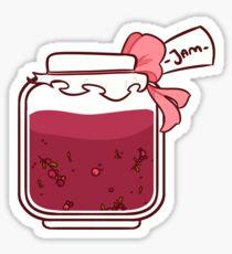Jam Jar Sticker