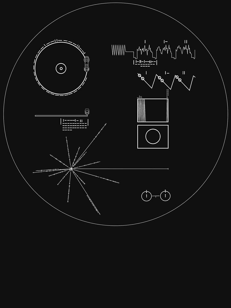 Die Goldene Schallplatte der Voyager von bobbooo