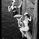 Pinups on the Pier by kellyanndoll