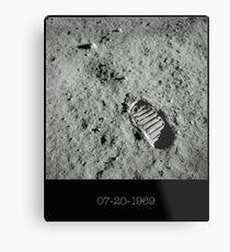 Lámina metálica Huella de Neil Armstrong