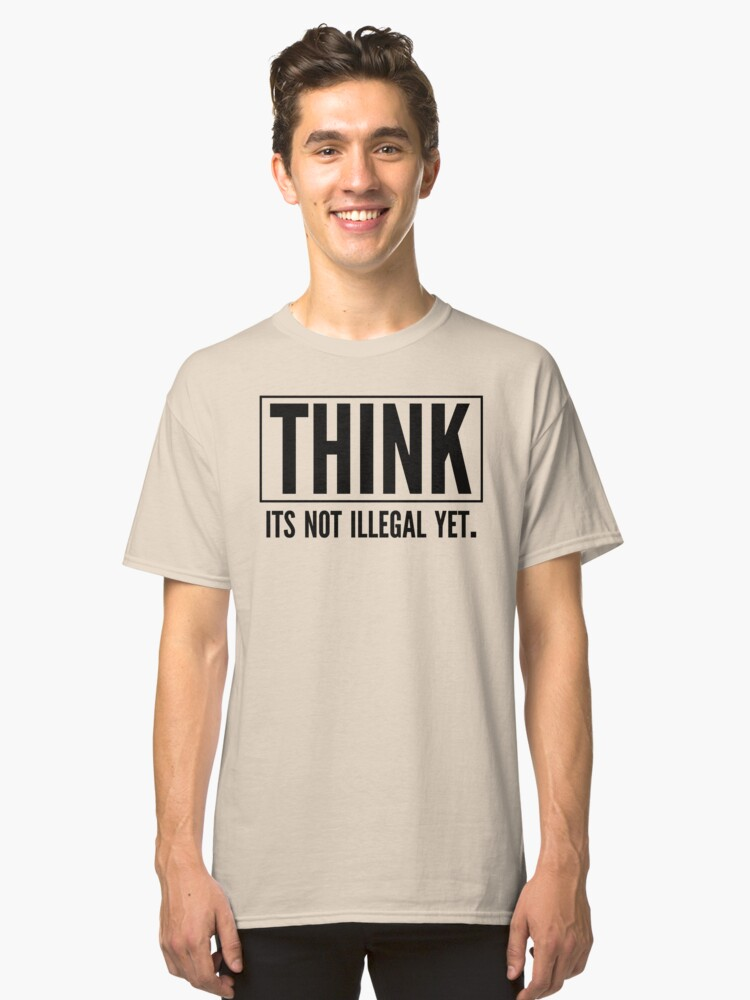 THINK Classic T-Shirt Front