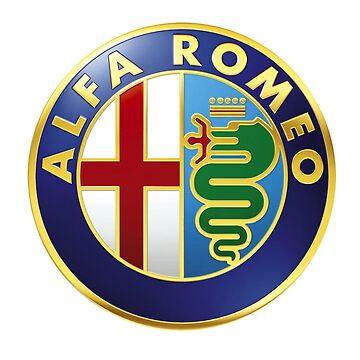 Alfa Romeo Gifts and Merchandise by thelmatrevino