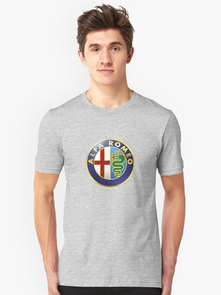 Alfa Romeo Gifts and Merchandise Unisex T-Shirt Front