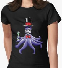 Squid Squad Like a Sir Womens Fitted T-Shirt