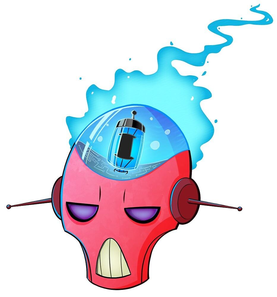 Harmful Opinions Robot Logo by HarmfulOpinions