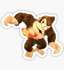 Donkey Kong Eyes Sticker