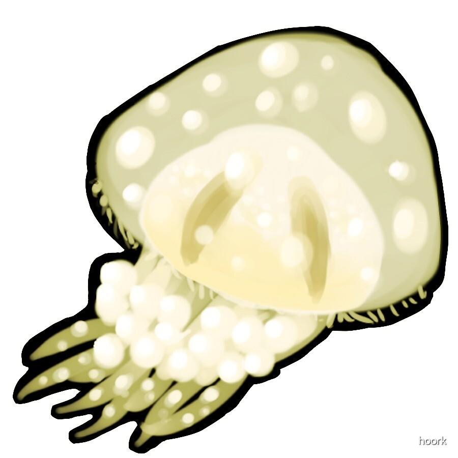 Jellyfish - Yellow by hoork