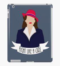 "P. Carter: ""Fight like a Girl."" iPad Case/Skin"