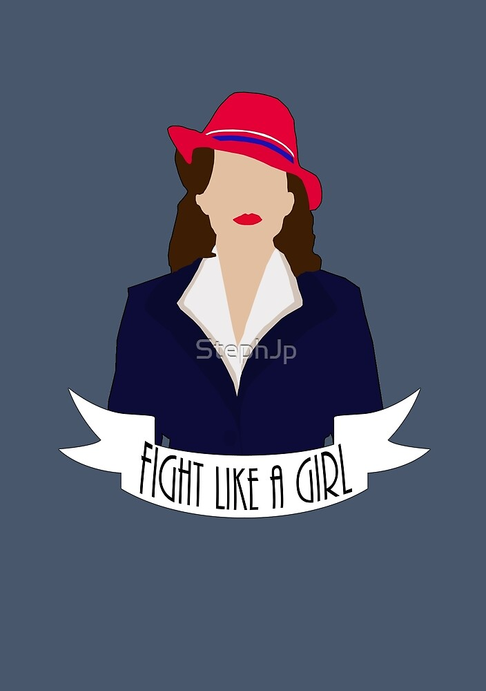 """P. Carter: """"Fight like a Girl."""" by StephJp"""