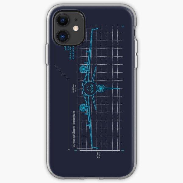 MD-11 Schematics iPhone Soft Case