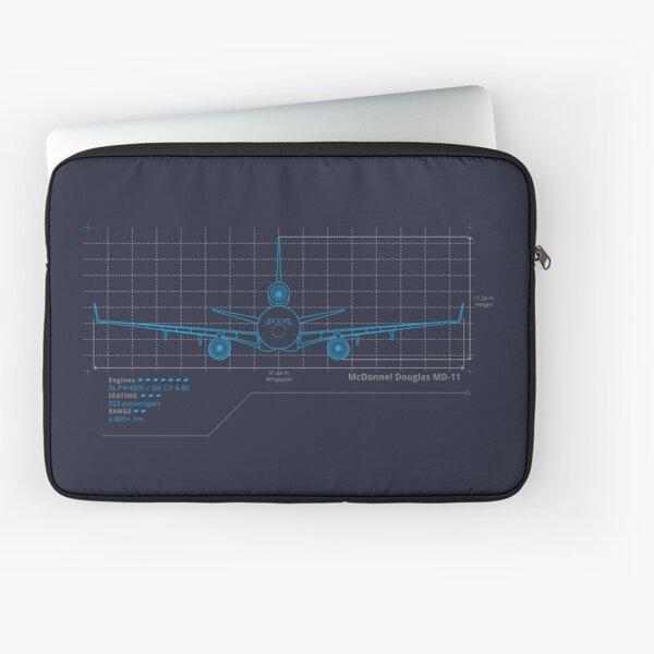 MD-11 Schematics Laptop Sleeve
