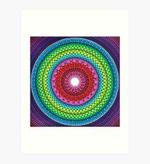 Mandala of Inner Peace Art Print
