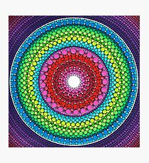 Mandala of Inner Peace Photographic Print