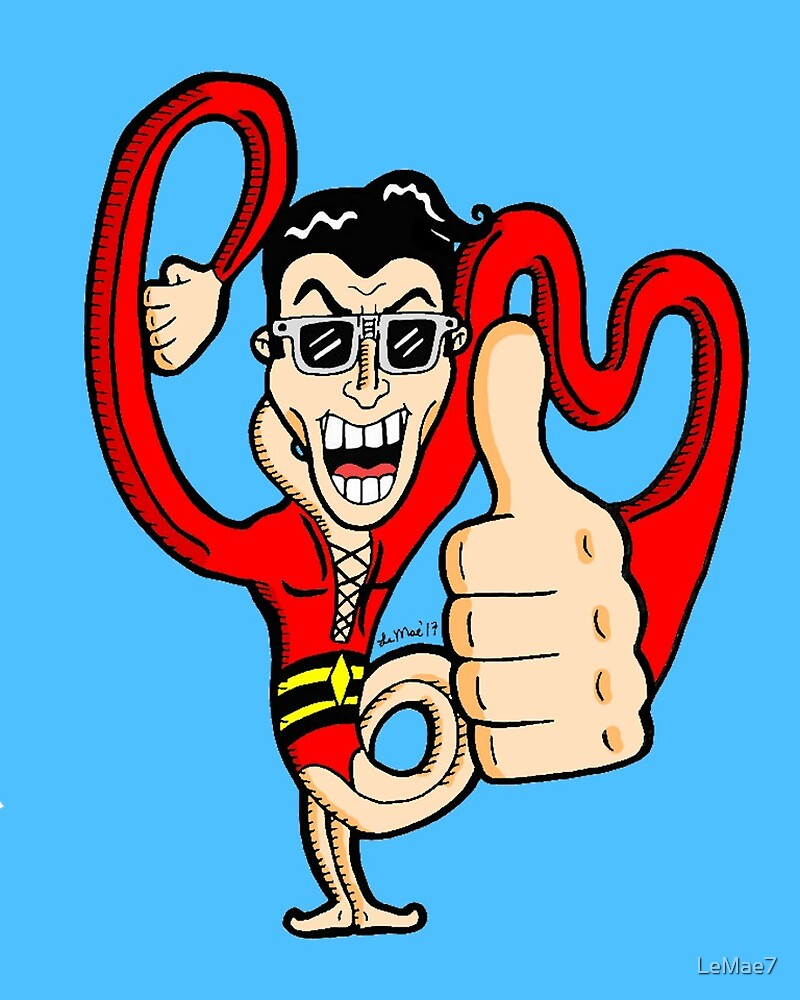 Thumbs Up, Plastic Man! by LeMae7