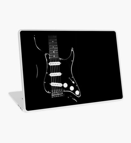 black glowstrings  Laptop Skin