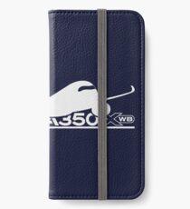 A350 XWB iPhone Flip-Case/Hülle/Klebefolie