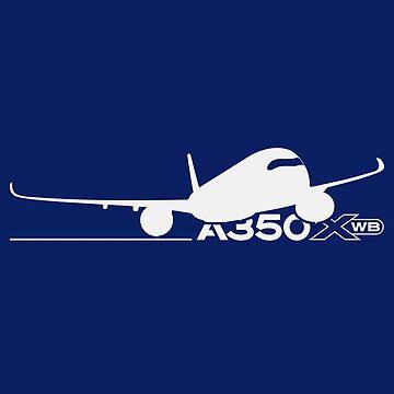 A350 XWB by Downwind