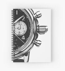 patek philippe watch abstract Spiral Notebook