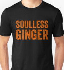 Seelenloser Ingwer - lustiges Ingwer-T-Shirts Geschenk Slim Fit T-Shirt