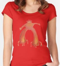 The Flaming Lips - Pink Robot Women's Fitted Scoop T-Shirt