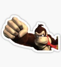 Donkey Kong Fist Sticker