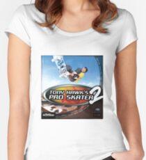 Tony Hawk Pro Skater 2 Women's Fitted Scoop T-Shirt