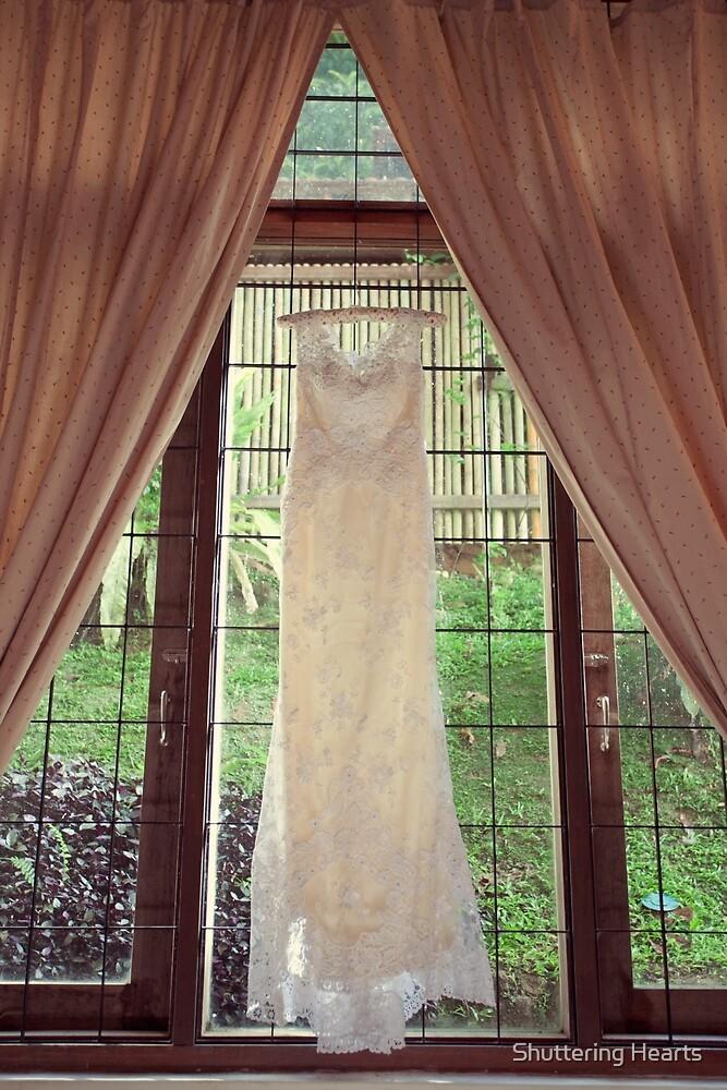 Wedding dress by Shuttering Hearts