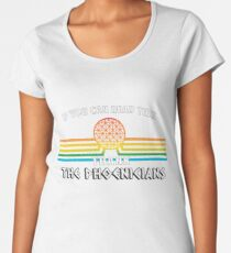 Thank the Phoenicians - Disney's Spaceship Earth - EPCOT Women's Premium T-Shirt